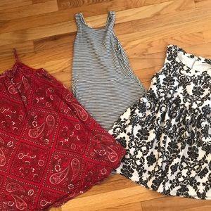 Girls dresses bundle of 3 Old Navy, GAP 6-8